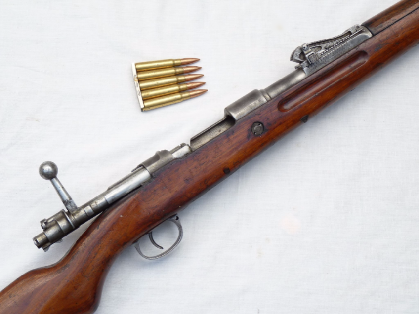 Deactivated Mauser Gew 98 infantry rifle dated 1918 Mauser